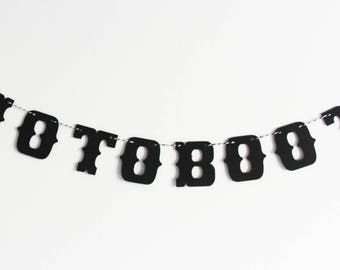Small Garland photobooth-10 letters - vintage wedding decor