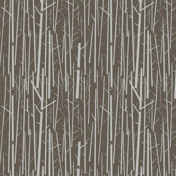 Charley Harper Organic Canvas Perch in Bark