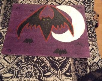 Night bat painting
