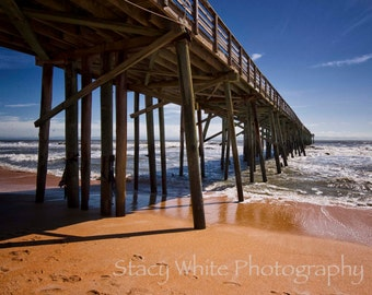 Landscape Photography - Pier at Flagler Beach - Fine Art Photograph by Stacy White Photography