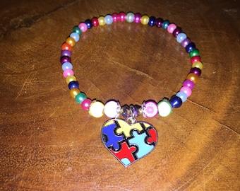 Autism awareness bracelet AUAWB1029