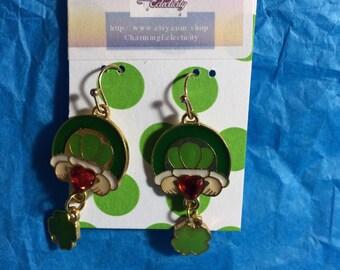 Irish Claddagh Charm Earrings