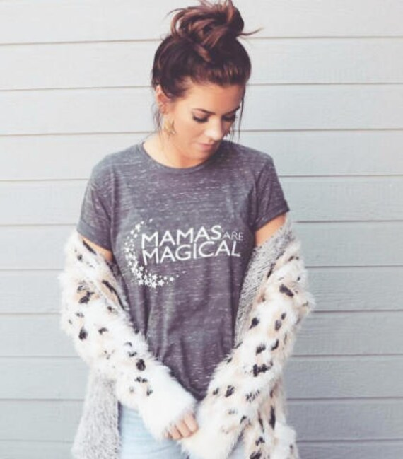 MAMAS ARE MAGICAL Acid Wash Tee, Mamas Are Magic, Mamas Are Magical, Mom Tee, Mommy Gift, Mom Gift, Mom Tshirts, Mom Graphic Tee, Mama Bird