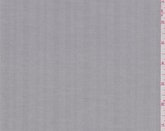 Sterling Grey Herringbone Shirting, Fabric By The Yard