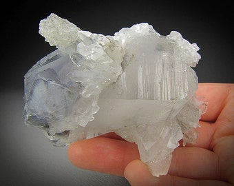 Quartz and Fluorite, Hunan Province, China