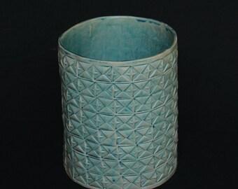 VASE // Türkies // Geschenk für Sie // Mid century modern //  Home Decor // Gift for him and her // Handmade // Fair trade