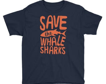 Save The Whale Sharks Kids Whale Shark T-Shirt