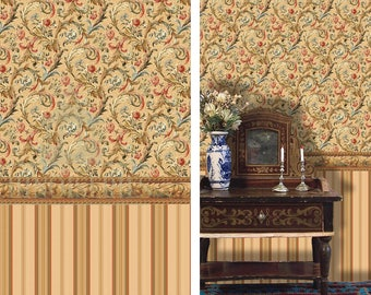Dollhouse Miniature Wallpaper,