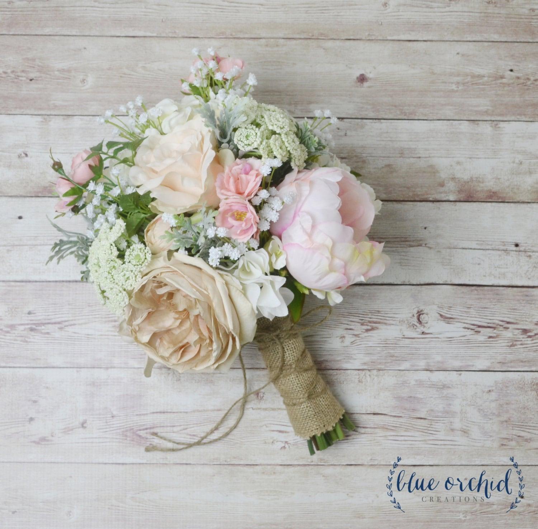 Boho bouquet silk flower bouquet wedding bouquet bridal zoom izmirmasajfo Gallery