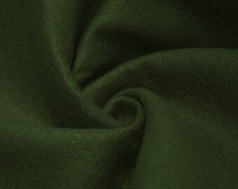 "Abby DARK HUNTER GREEN 72"" Acrylic Felt Fabric by the Yard - 10030"