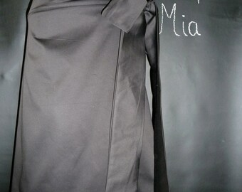 Wrap Around SKIRT - Pick your own COLOR - Made in ANY Size - Boutique Mia