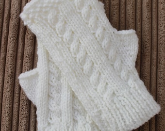 Instant download knitted ladies fingerless gloves pattern KP395
