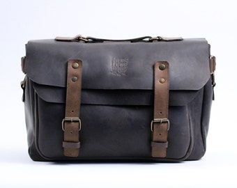 Laptop Messenger Bag (Chocolate)
