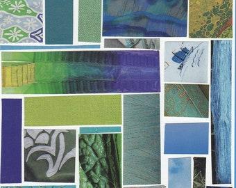 Blue Mosaic Card