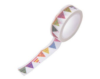 A pretty masking tape color - Washi tape, tape, adhesive Ribbon Garland
