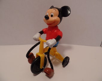 1977 Mickey Mouse Tricycle (by Gabriel) Vintage Disney Toys (RARE)