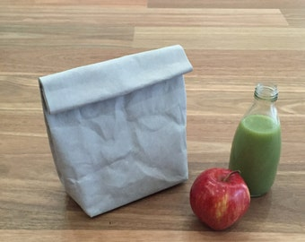 Washable Paper / Lunch Sack / Lunch Bag / Eco Bag Paper Bag / Washable paper bag / Eco Product Packaging
