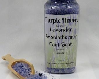 Lavender Aromatherapy Foot Soak