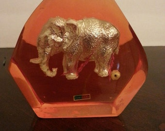 Elephant Paperweight - made in Portugal