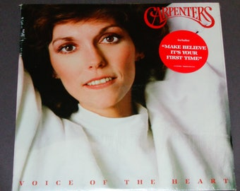 """The Carpenters - Voice of the Heart - In Shrink- """"Your Baby Doesn't Love You Anymore"""" - A&M 1983 - Vintage Vinyl LP Record Album"""