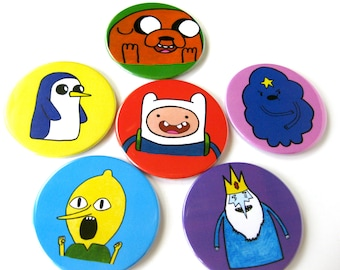 Adventure Time Inspired Coasters