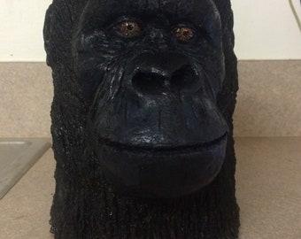 Resin chimpanzee