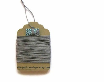 Grey  Bakers Twine, Solid  Bakers Twine, 10yds, Halloween Colors, Solid Bakers Twine , Grey Twine