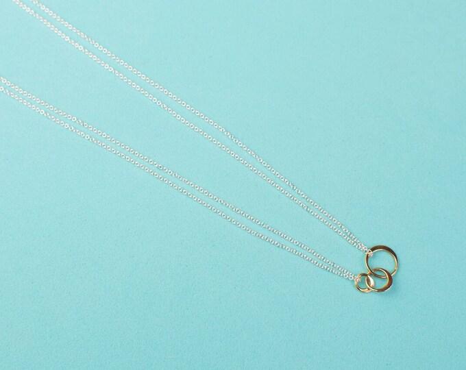 Triple Orbit Necklace