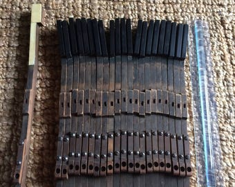 Antique Piano Keys- Set of 22