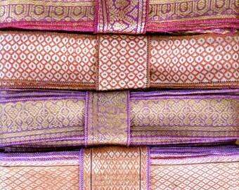 Silk Sari borders, Sari Trim SR296