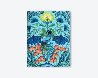 Notebook/Notebook/Bird of Paradise/Watercolor/by Elisabeth Aranda