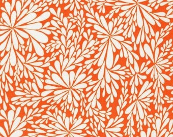 Orange Modern Quilting Cotton; Robert Kaufman; [[by the half yard]]