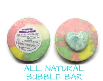 Princess Lavender Bubble Bar - Natural Bubble Bath - Kids Bubble Bath - Moisturizing Bubble Bath - Princess Party Favors - Gifts for Girls