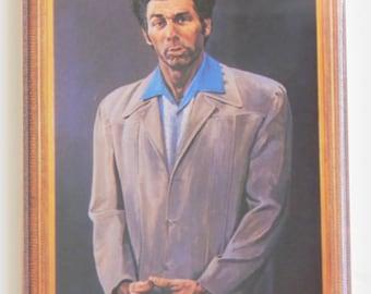 Kramer Portrait Fridge Magnet