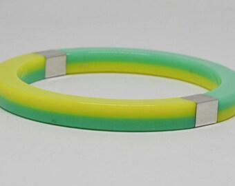 Colorful Neon Color Bangle Bracelet