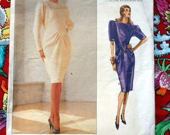 Vintage Vogue American Designer Sewing Pattern Oscar de la Renta 2335 sizes 12-14-16