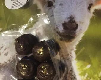 Vegan Salted Caramel Truffle Chocolates