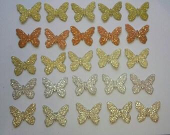 Glitter butterfly die cut, glitter party decorations,butterfly die cuts, glitter party supplies, butterfly cut outs, Diecuts, Fairytale