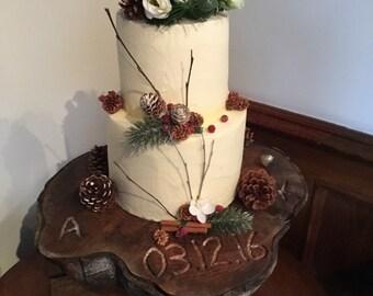 Bespoke Wedding Cake Stand from Scotland