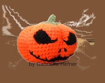 Amigurumi Halloween big pumpkin pattern