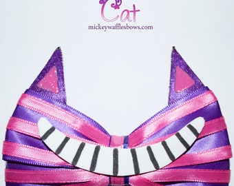 Cheshire Cat Hair Bow