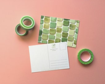 Watercolor Postcard Set (Pick from 100+ designs)