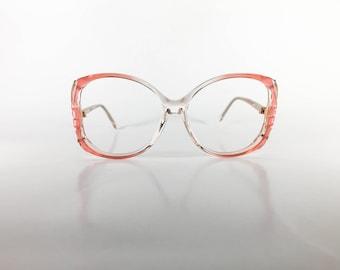Elan 403 col 8651 Pink Pearl Women's Vintage Eyeglasses NOS Deadstock - F430Z-10