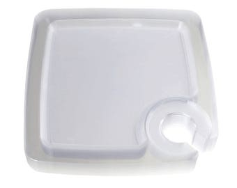 Clear Plastic Plates with Cup Holder 9-Inch 12-Piece  sc 1 st  Etsy & Plastic plates   Etsy