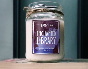 Enchanted Library Soy Wax Candle