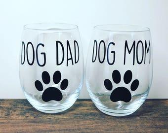 Dog Mom   Dog Dad   Dog Mom Gift   Dog Dad Gift   Dog Lover   Dog Lover Gift   Gift for Dog Lover   I Love My Dog   Dog Parent Cups