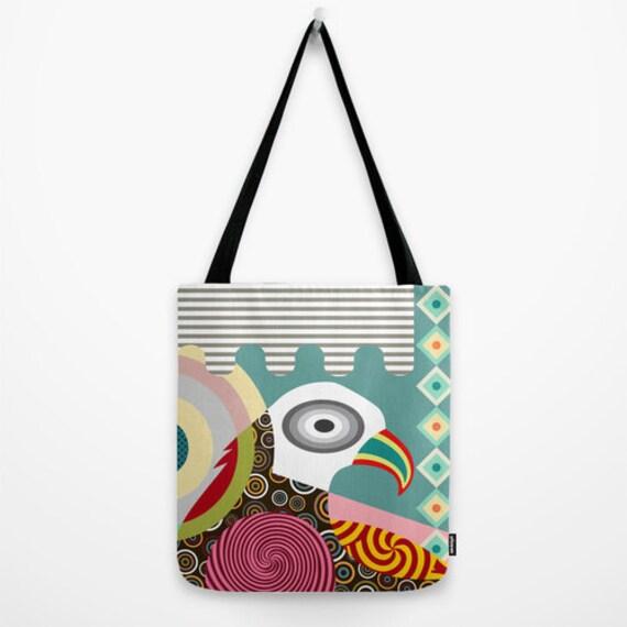 Bird Tote Bag, Bird Gift, Bald Eagle, American Eagle Tote Bag, Bird Design Tote Bag, Pop Gift, Bird Accessories