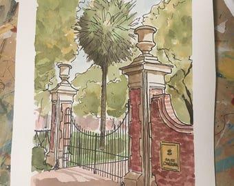 USC's Horseshoe Gateway Print