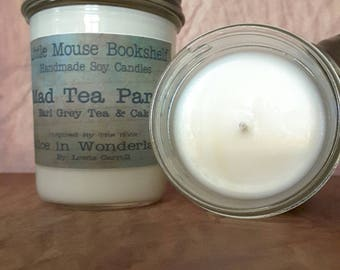 Mad Tea Party - 8oz Soy Candle - Alice's Adventures in Wonderland