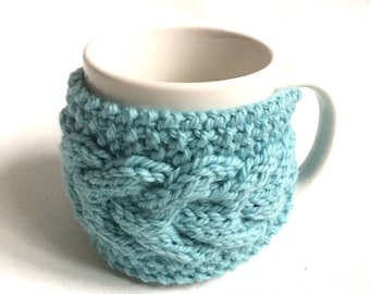 mug cozy knitted mug warmer cup cozy